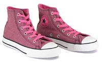 Converse - All Star - Youth - 305788 - Pink Limited Edition Pink Design Comes With Blue And White Laces Six Eyelet Lace-up Front   Click here for our Size Info Click here for our Delivery Info Click here for our http://www.comparestoreprices.co.uk/shoes/...