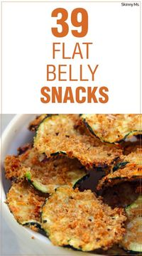 The ideal flat belly snacks are high in protein and low on calories to fill your stomach and satisfy your appetite.