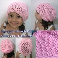 Squiggly Slouch Hat - Meladora's Creations Free Crochet Patterns & Tutorials