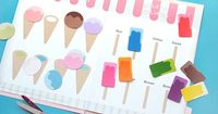 Ice Cream Color Matching Game - Pinned by