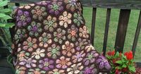 Ravelry: Modern Blanket of Flowers pattern by Julie Yeager - LOVE THIS! Looks like tapestry.
