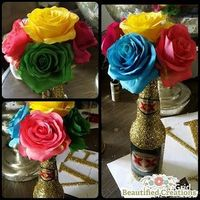 BEAUTIFIED CREATIONS: INSPIRATION FRIDA KAHLO INSPIRED CENTERPIECES