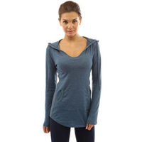 Women T-shirt Long Sleeve V-neck Pullovers With Pocket Casual Slim Fit Solid Long Tops Tees $30.30