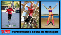 Blending technology, comfort, and design; ACEL brings you the widest assortment of Performance Socks in Michigan! With great moisture management abilities; these shocks offer superfast evaporation of sweats and deliver a high level of comfort! Place your ...