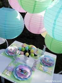 Kid's Easter Egg Hunt Party - DIY decorations, printables, food, treats and games for your party or family celebrations!