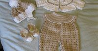 Ravelry: Project Gallery for Baby Crochet Pattern JC116NB pattern by Justcrochet Designs