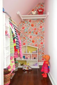 Wallflowers (aka: How To Cover A Wall With Fabric)   Young House Love