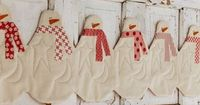 Quilting: Snowman Table Runner