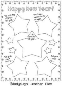 From Ladybug's Teacher files---I love this idea to do when we get back from break!