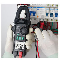 FUYI FY219 Double Display AC/DC True RMS Digital Clamp Meter Portable Multimeter Voltage Current Meter Inrush Current V.F.C Frequency Conversion Low Impedance Voltage Measurement