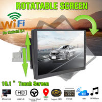 "Android 8.1 10.1"" Adjustable HD Car Stereo Radio GPS Wifi Mirror Link Bluetooth"