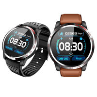 Bakeey W3 ECG+HPV Heart Rate Blood Pressure SPO2 Heart Health Monitor Caller Message Reminder Smart Watch