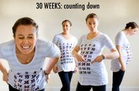 Welcome to the Maternity Countdown page! When I was pregnant with my second child, I thought up this fun way to document my growing belly. I created a maternity