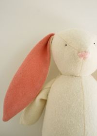 Soft Woolen Bunny - the purl bee