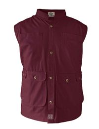 Cotton Sleeveless Waistcoat Vest Maroon Red �'�1999.00