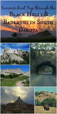 Preparing for a summer road trip to the Black Hills and Badlands of South Dakota? Here are beautiful pictures of sights & useful hints to help you prepare. AD