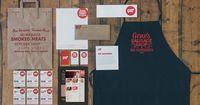 Gene's Sausage Shop Identity Design by Knoed Creative