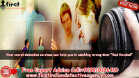 Detective agency in Ghaziabad - a trusted name in the investigation area We can help you in checking different factors such training, money related status, wellbeing, identity, character and family foundation. In addition, we additionally give present ma...