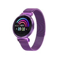 Bakeey MC11 Female Physiological Cycle Crystal Dial Heart Rate Blood Pressure Intelligent Remind Smart Watch