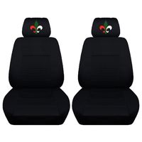 Two Front Covers Customized with an Embroidered Fluer Airbag Friendly Fits Toyota RAV4 $89.99