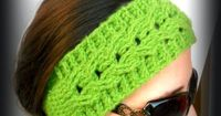 My Hobby Is Crochet: Crochet Cable Headband Easy fit - Free crochet Pattern with Tutorial