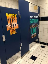 Boys and Girls bathroom makeover idea