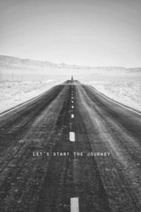 Let's start the journey | Inspirational Quotes