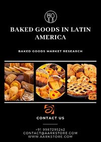 The new report on the baked goods in Latin America is a panorama of the markets. It updates you with the latest trends in the market and possible opportunities to help you grow further.