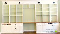 built-in-desk-and-bookshelf-Home-Is-Where-My-Heart-Is-featured-on-Remodelaholic.jpg  http://www.remodelaholic.com/2013/12/build-wall-to-wall-built-in-desk-bookcase/