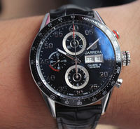 "Popular TAG Heuer Watch �€"" TAG Heuer Carrera Day-Date Chronograph CV2A10.FC6235"
