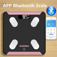 Everfit Wireless Bluetooth Digital Body Fat Scale for Bathroom Health Analyser 180KG