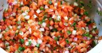 this pico is why god created tomatoes. and my belly. || fresh and easy pico de gallo recipe