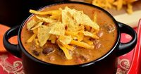 Cheesy Taco Soup #winter #fall #beef #groundbeef #dinner #lunch #soup