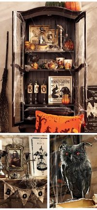 Awesome Halloween vignettes.