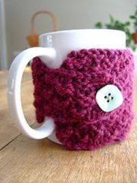 Ravelry: Quick-and-Easy Mug Cosy pattern by Martha Lubbers