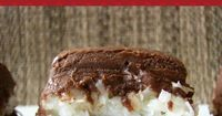 Mounds Brownie #Recipe |