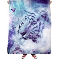 ROFB White Tiger - Soft Fleece Blanket $65.00