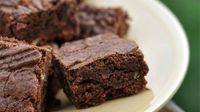 Fudgy Brownies I. Lactose-free.