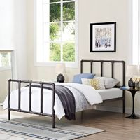 Modway Dower Platform Bed   from hayneedle.com