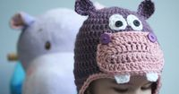 Repeat Crafter Me: Crochet Hippo Hat Pattern