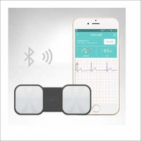 Handheld ECG Heart Monitor for Wireless Heart Performance Without ECG Electrodes Required Home Use EKG Monitoring ios Android $250.95