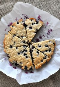 Ingredients: �€� 1 ½ cups Cashews �€� ¼ cup Arrowroot �€� Pinch of Salt �€� 1 tsp Baking Powder �€� 1 cup Fresh Blueberries �€� ¼ cup Extra Virgin Coconut Oil �€� 3 Tbl Maple Syrup �€� 2 tsp Vanilla Extra...