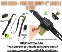 "If you are searching for the best quality and cost-effective Dog Leash, your search ends here at Paw Five. We have the most effective solution with full-spectrum of features for more pleasurable walks �€"" from small to medium and large breeds. ..."