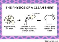 The Physics Of A Clean Shirt