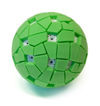 We present the Throwable Panoramic Ball Camera which captures a full spherical panorama when thrown into the air. At the peak of its flight, which is deter