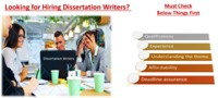 5 Things to Check before Hiring a Dissertation Writer