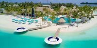 Kandima Maldives - he upscale Kandima Maldives is a stunning resort set on its own private island in the Dhaalu Atoll, surrounded by a pristine two-mile beach.