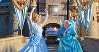 Bibbidi Bobbidi Boo! An unexpected highlight of our Disney World vacation -for our 8 yr old!!