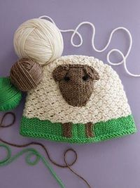 Knitting is often so gorgeous, and, occasionally, just damn cute.