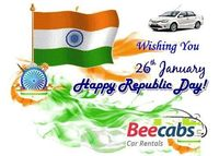 Happy Republic Day 2018 ! Respect the constitution  of free India! Happy Republic Day! -Beecabs Car Rentals